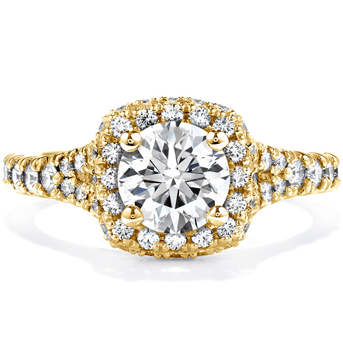 0.75 ctw. Acclaim Engagement Ring in 18K Yellow Gold