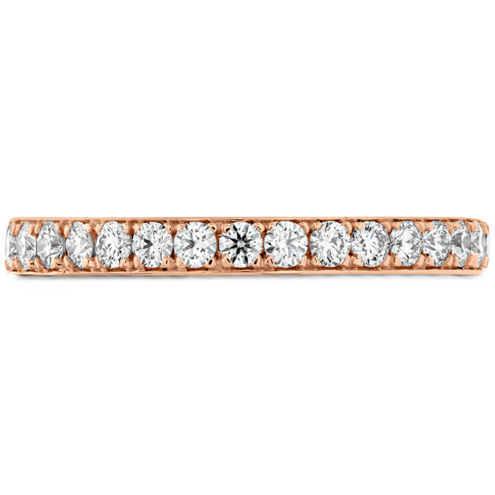 0.35 ctw. Beloved Band to match Open Gallery in 18K Rose Gold