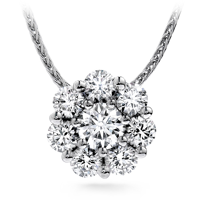 1.5 ctw. Beloved Pendant Necklace in 18K White Gold