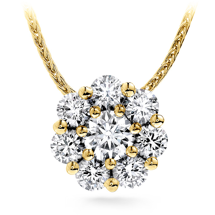 1 ctw. Beloved Pendant Necklace in 18K Yellow Gold