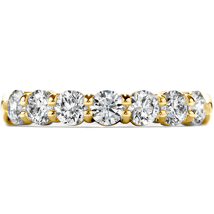 1.75 ctw. Seven-Stone Band in 18K Yellow Gold