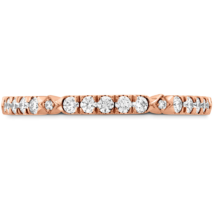 0.25 ctw. Cali Chic Diamond Accent Band in 18K Rose Gold