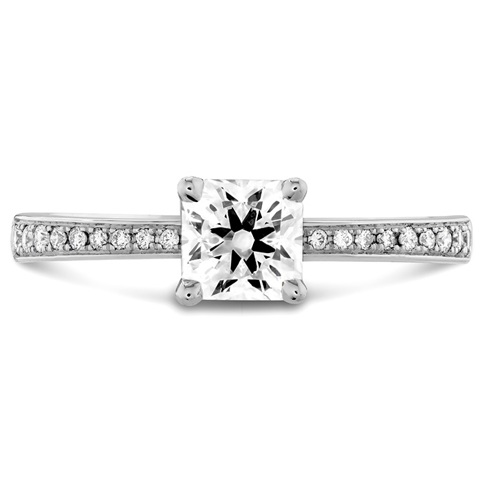 0.1 ctw. Dream Signature Engagement Ring-Diamond Band in 18K White Gold