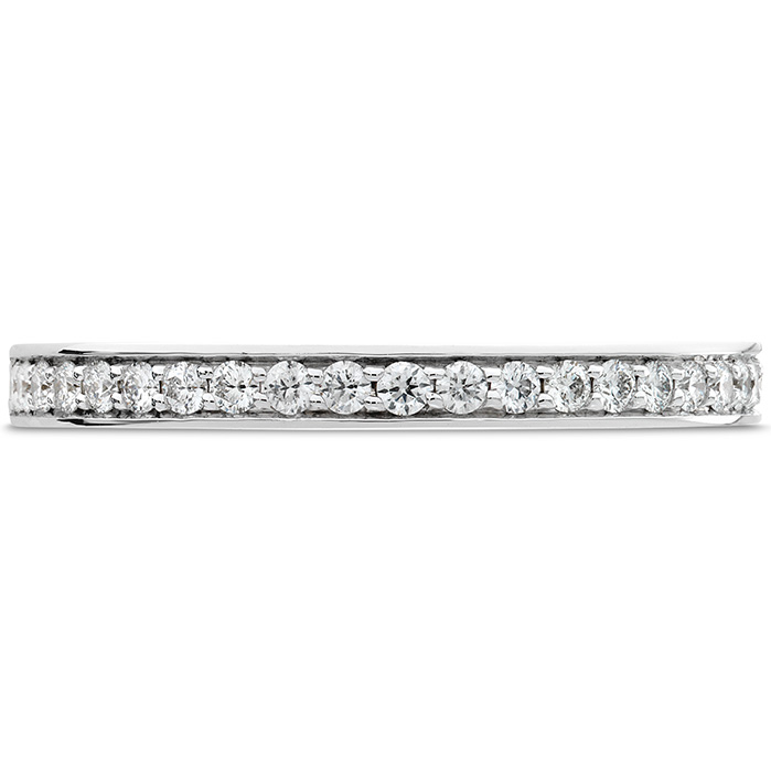 0.2 ctw. Enticement Channel Wedding Band in 18K White Gold