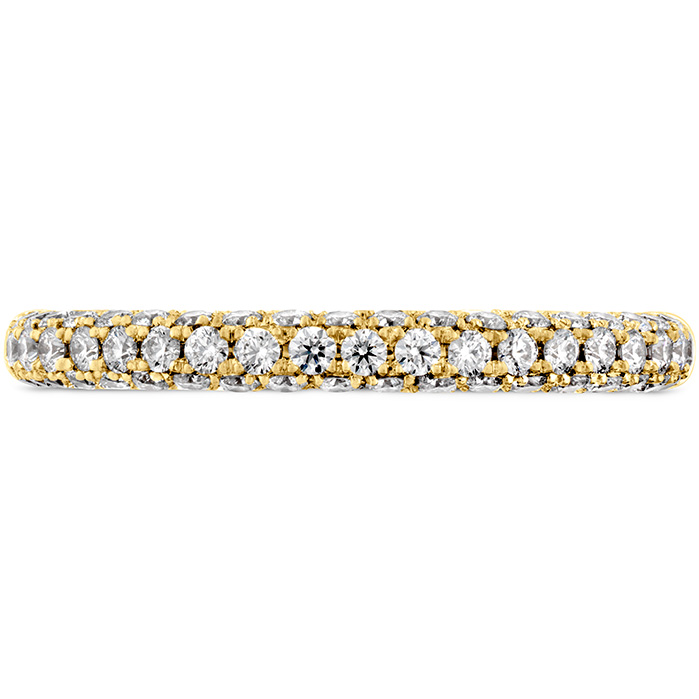 0.45 ctw. Euphoria Pave Band in 18K Yellow Gold