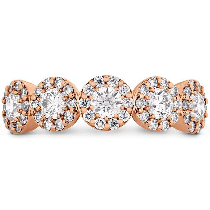 0.85 ctw. Fulfillment Round Band in 18K Rose Gold