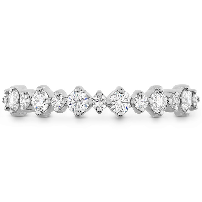 0.37 ctw. Gracious Classic Diamond Band in 18K Rose Gold