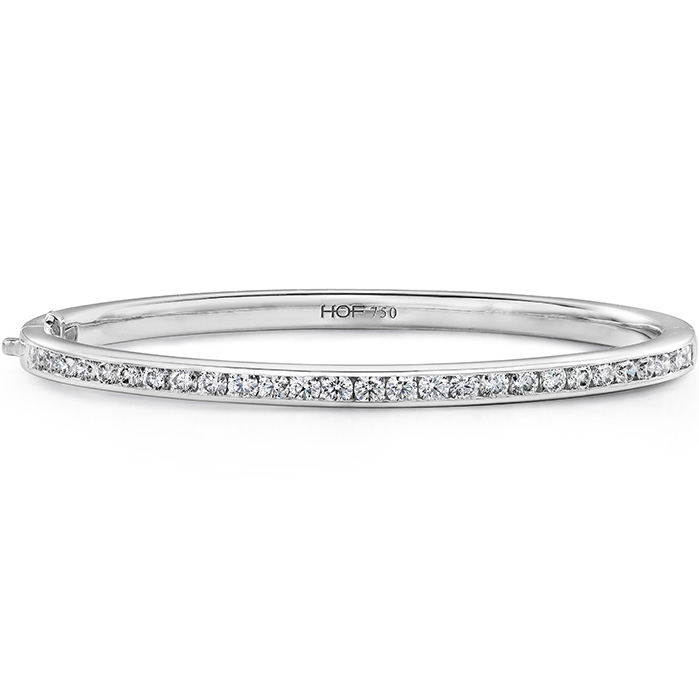 2.15 ctw. HOF Classic Channel Set Bangle - 270 in 18K Yellow Gold
