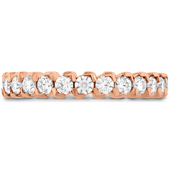 0.65 ctw. HOF Pointed Diamond Band in 18K Rose Gold