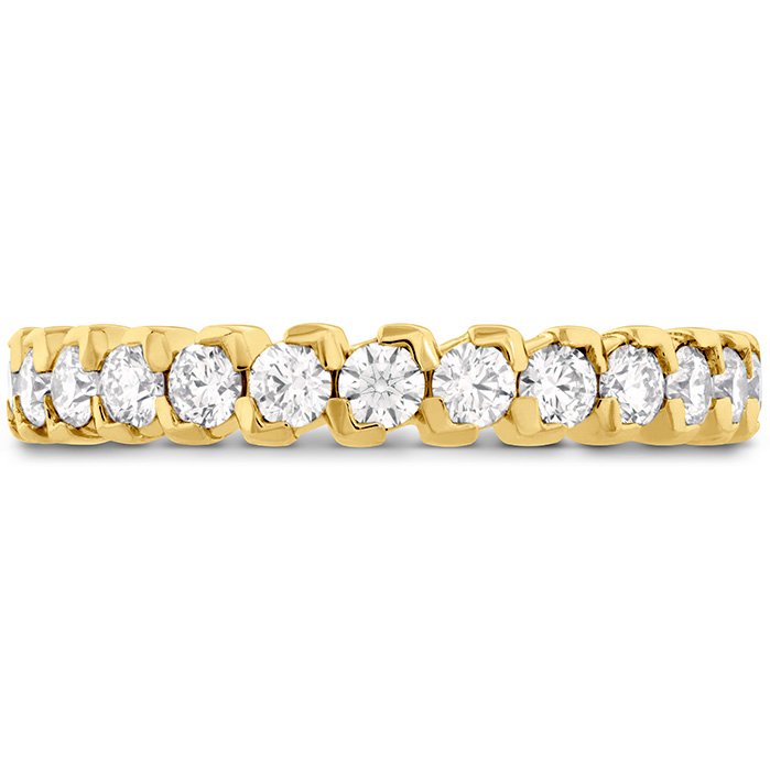 0.65 ctw. HOF Pointed Diamond Band in 18K Yellow Gold
