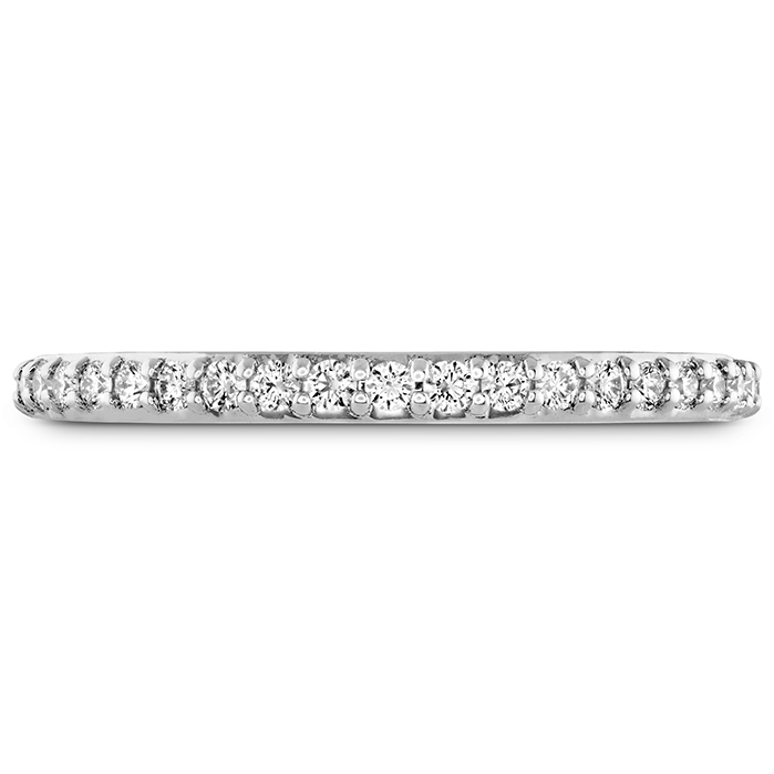 0.19 ctw. Behati Say It Your Way Matching Band in 18K White Gold