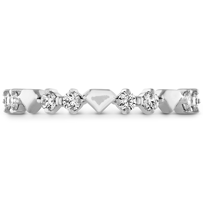 0.21 ctw. Behati Bold Shapes Band in Platinum