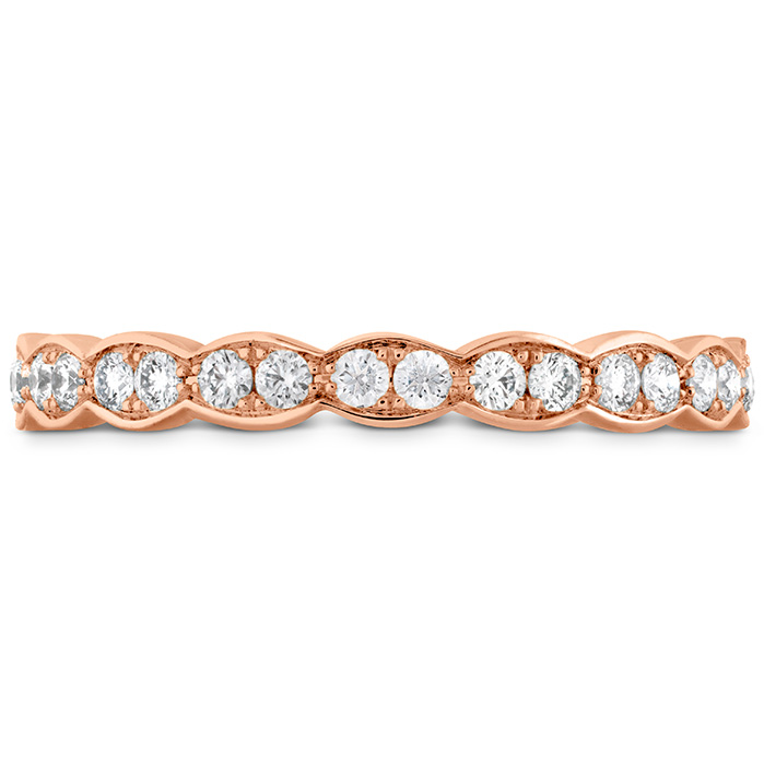 0.4 ctw. Lorelei Floral Eternity Band in 18K Rose Gold