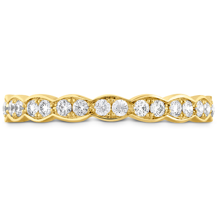 0.5 ctw. Lorelei Floral Eternity Band in 18K Yellow Gold
