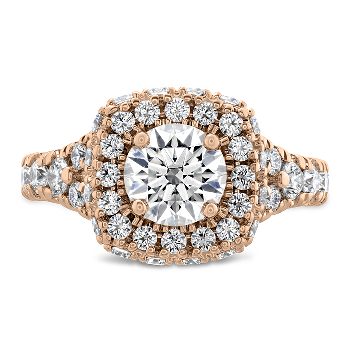 1.38 ctw. Luxe Acclaim Diamond Ring in 18K Rose Gold