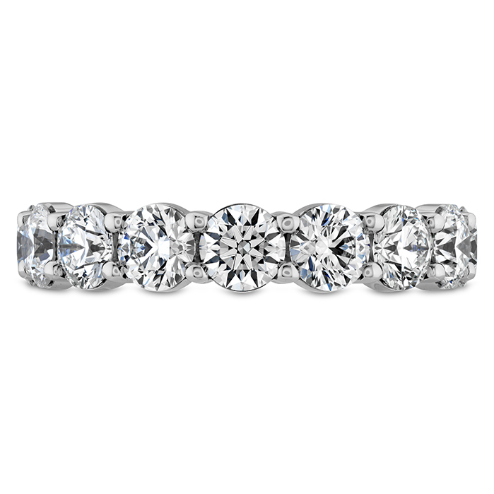 4.6 ctw. Luxe Eternity Band in 18K White Gold