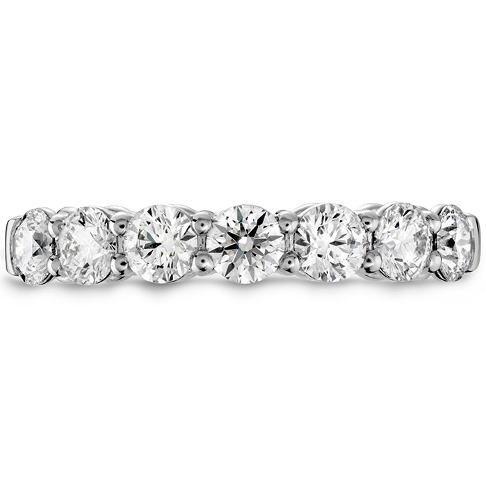 0.45 ctw. Multiplicity Love Seven-Stone Band in 18K White Gold