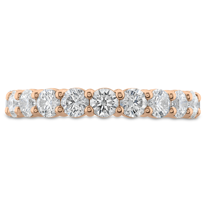 1 ctw. Signature 11 Stone Band in 18K Rose Gold