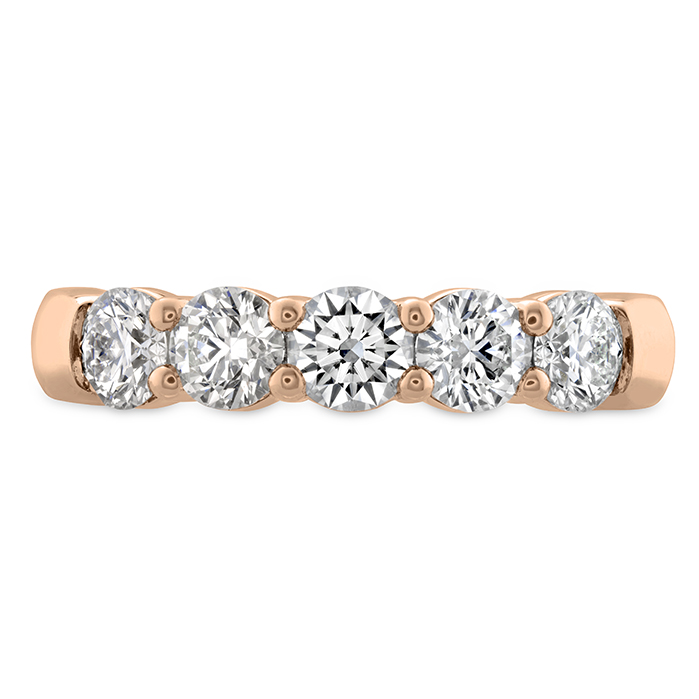 0.5 ctw. Signature 5 Stone Band in 18K Rose Gold