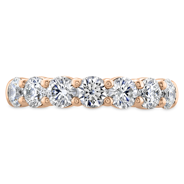 0.75 ctw. Signature 7 Stone Band in 18K Rose Gold