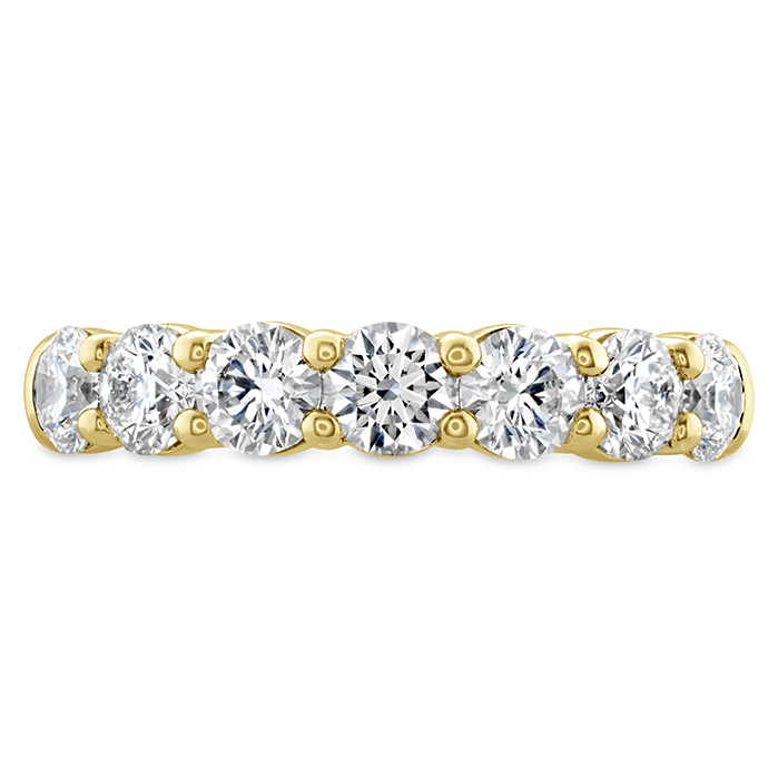 1 ctw. Signature 7 Stone Band in 18K Yellow Gold