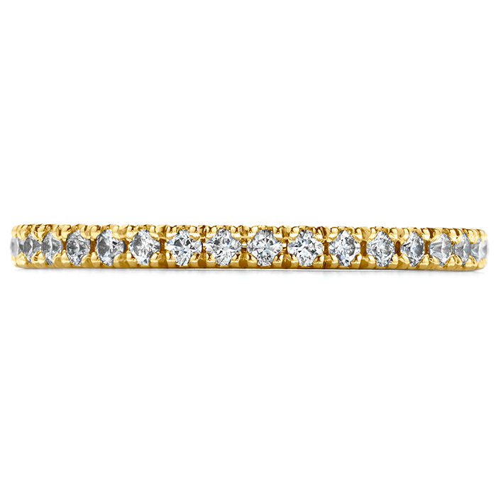0.25 ctw. Transcend Wedding Band in 18K Yellow Gold